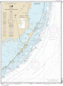 Picture of 11462 - Florida Keys - Fowey Rocks To Alligator Reef Nautical Chart