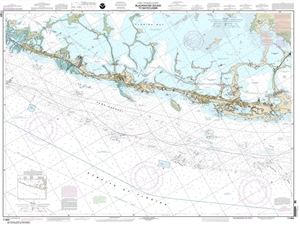 Themapstore Noaa Charts Florida Gulf Of Mexico Intracoastal