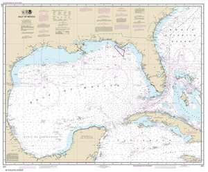 Picture of 411 - Gulf of Mexico Nautical Chart