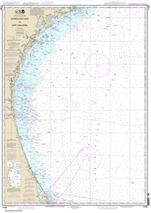 Picture of 11480 - Charleston Light To Cape Canaveral Nautical Chart