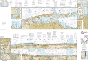 Picture of 11467 - Intracoastal Waterway - West Palm Beach To Miami Nautical Chart