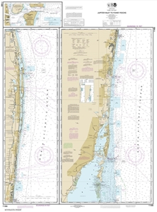 Picture of 11466 - Jupiter Inlet To Fowey Rocks Nautical Chart