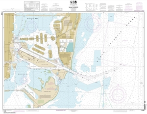Picture of 11468 - Miami Harbor Nautical Chart