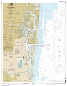 Picture of 11470 - Fort Lauderdale - Port Everglades Nautical Chart
