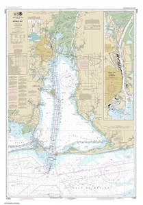 Picture of 11376 - Mobile Bay Nautical Chart
