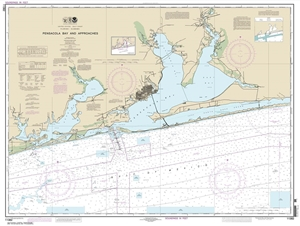 Picture of 11382 - Pensacola Bay And Approaches Nautical Chart