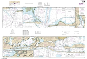 Picture of 11378 - Intracoastal Waterway - Santa Rosa Sound To Dauphin Island Nautical Chart