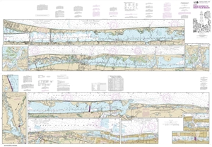 Picture of 11472 - Intracoastal Waterway - Palm Shores To West Palm Beach Nautical Chart