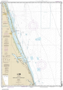 Picture of 11474 - Bethel Shoal To Jupiter Inlet Nautical Chart