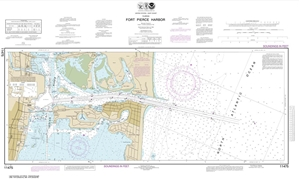 Picture of 11475 - Fort Pierce Harbor Nautical Chart