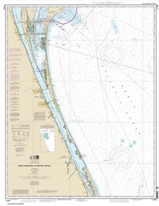 Picture of 11476 - Cape Canaveral To Bethel Shoal Nautical Chart