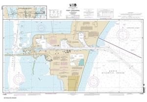 Picture of 11478 - Port Canaveral Nautical Chart