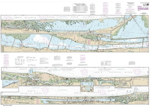 Picture of 11485 - Intracoastal Waterway - Tolomato River To Palm Shores Nautical Chart