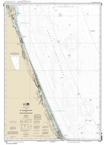 Picture of 11486 - St. Augustine Light To Ponce de Leon Inlet Nautical Chart