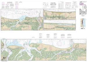 Picture of 11489 - Intracoastal Waterway - St. Simons Sound To Tolomato River Nautical Chart