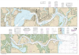 Picture of 11491 - St. Johns River - Atlantic Ocean To Jacksonville Nautical Chart