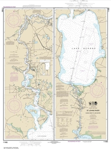 Picture of 11495 - St. Johns River - Dunns Creek To Lake Dexter Nautical Chart