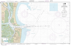 Picture of 11503 - St. Marys Entrance - Cumberland Sound And Kings Bay Nautical Chart