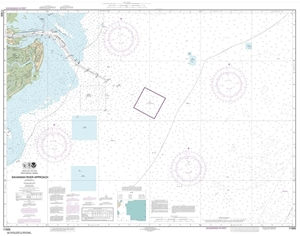 Picture of 11505 - Savannah River Approach Nautical Chart
