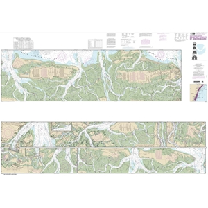 Picture of 11507 - Intracoastal Waterway - Beaufort River To St. Simons Sound Nautical Chart