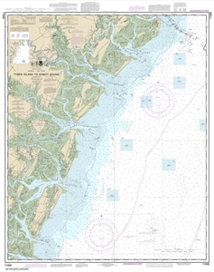 Picture of 11509 - Tybee Island To Doboy Sound Nautical Chart