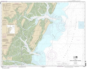 Picture of 11510 - Sapelo And Doboy Sounds Nautical Chart