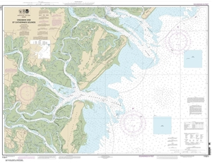 Picture of 11511 - Ossabaw And St. Catherines Sounds Nautical Chart