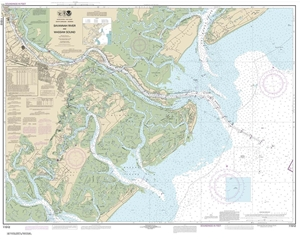 Picture of 11512 - Savannah River And Wassaw Sound Nautical Chart