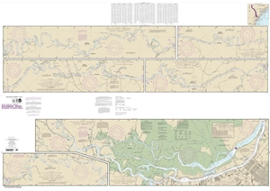 Picture of 11514 - Savannah River  - Savannah To Brier Creek Nautical Chart