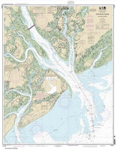 Picture of 11516 - Port Royal Sound And Inland Passages Nautical Chart