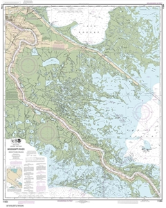 Picture of 11364 - Mississippi River - Venice To New Orleans Nautical Chart