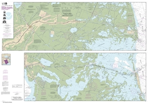 Picture of 11365 - Barataria And Bayou Lafourche Waterways - Intracoastal Waterway To Gulf of Mexico Nautical Chart