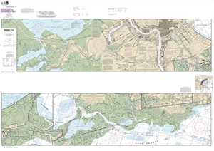 Picture of 11367 - Intracoastal Waterway - Waveland To Catahoula Bay Nautical Chart