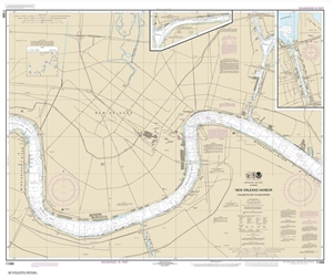 Picture of 11368 - New Orleans Harbor - Chalmette Slip To Southport Nautical Chart