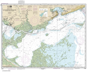 Picture of 11371 - Lake Borgne And Approaches Cat Island To Point Aux Herbes Nautical Chart