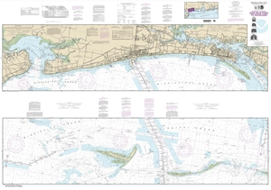Picture of 11372 - Intracoastal Waterway - Dog Keys Pass To Waveland Nautical Chart
