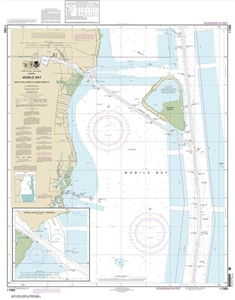 Picture of 11380 - Mobile Bay - East Fowl River To Deer River Point Nautical Chart