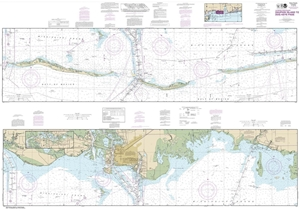 Picture of 11374 - Intracoastal Waterway - Dauphin Island To Dog Keys Pass Nautical Chart