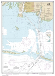 Picture of 11375 - Pascagoula Harbor Nautical Chart
