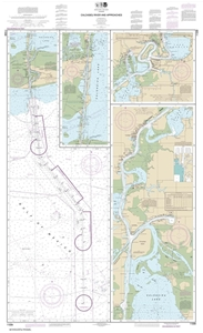 Picture of 11339 - Calcasieu River And Approaches Nautical Chart