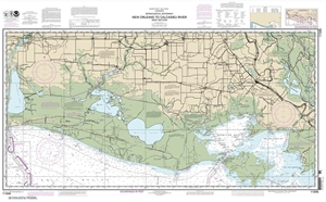 Picture of 11345 - Intracoastal Waterway - New Orleans To Calcasieu River West Section Nautical Chart
