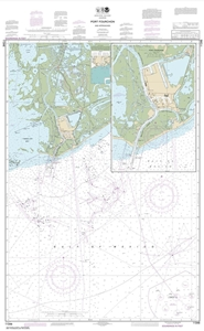 Picture of 11346 - Port Fourchon And Approaches Nautical Chart