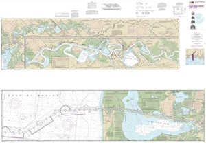 Picture of 11347 - Calcasieu River And Lake Nautical Chart