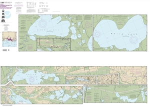 Picture of 11348 - Intracoastal Waterway - Forked Island To Ellender, Including The Mermentau River, Grand Lake And White Lake Nautical Chart