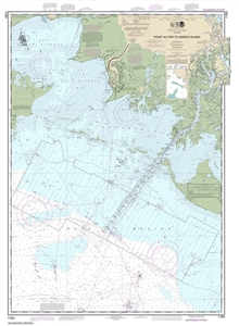 Picture of 11351 - Point Au Fer To Marsh Island Nautical Chart