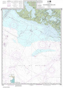 Picture of 11356 - Isles Dernieres To Point Au Fer Nautical Chart