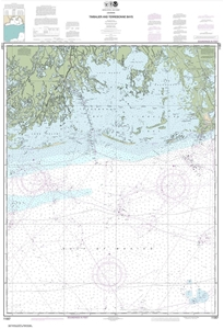 Picture of 11357 - Timbalier And Terrebonne Bays Nautical Chart