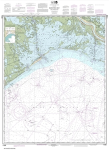 Picture of 11358 - Barataria Bay And Approaches Nautical Chart