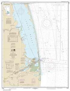Picture of 11301 - Southern Part of Laguna Madre Nautical Chart