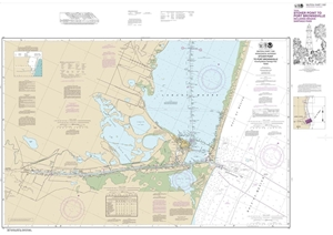 Picture of 11302 - Intracoastal Waterway - Stover Point To Port Brownsville Including Brazos Santiago Pass Nautical Chart